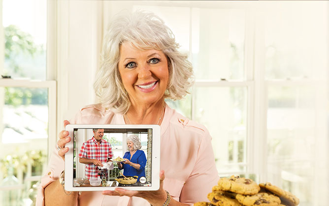 It's All Inside the Paula Deen Network!